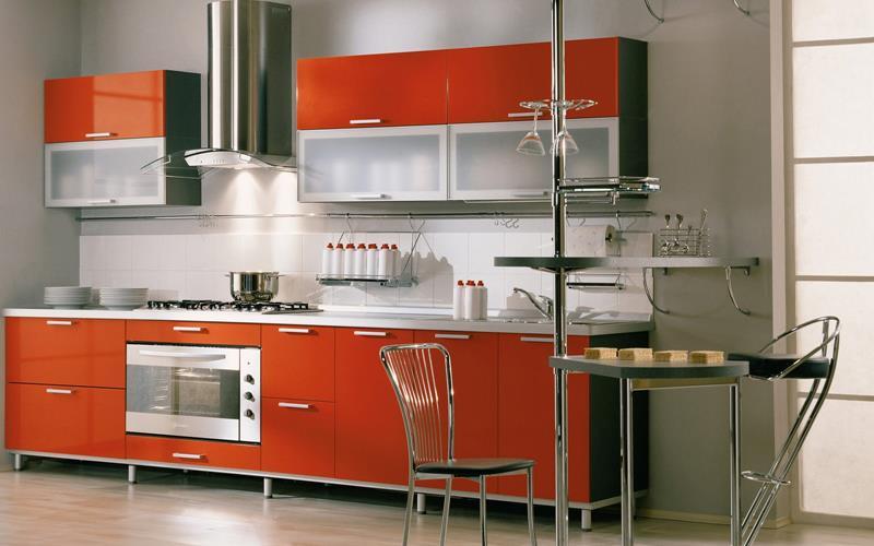 27 Thiết kế nhà bếp màu đỏ hoàn toàn tuyệt vời-4