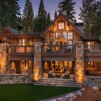 31+ A Review Of Log Cabin Homes Rustic Lake Houses 00002