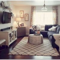 25+ Cozy Apartment Living Room Decorating Ideas