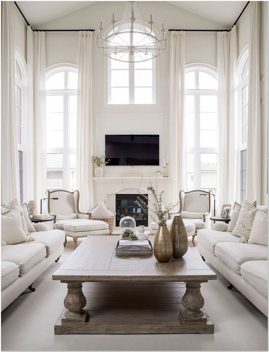 Key Features of Luxury Living Room Interior