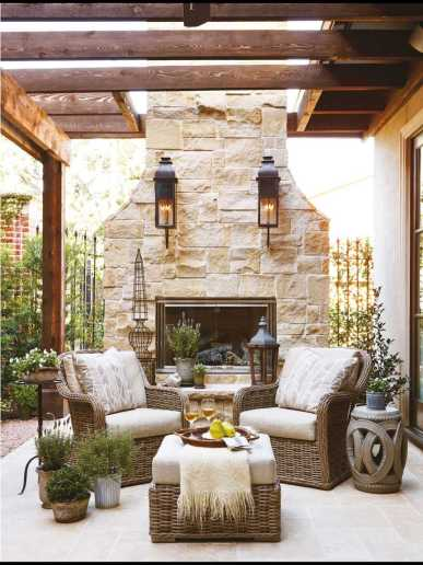 Incredible Cozy Outdoor Rooms Design And Decorating Ideas 0018