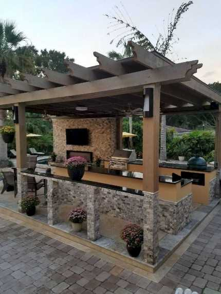Incredible Cozy Outdoor Rooms Design And Decorating Ideas 0020