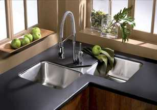 Beautiful Corner Kitchen Sink 0005