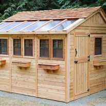 Wooden Sheds Ideas For Installing 0007