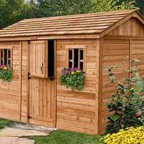 Wooden Sheds Ideas For Installing 0021