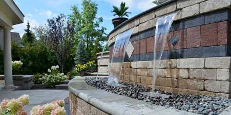 Wall Waterfall Outdoor Fountain Kits0003