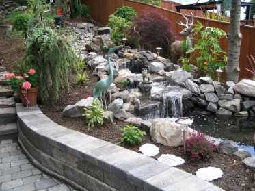 Wall Waterfall Outdoor Fountain Kits0004