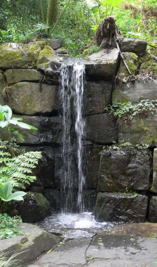 Wall Waterfall Outdoor Fountain Kits0006