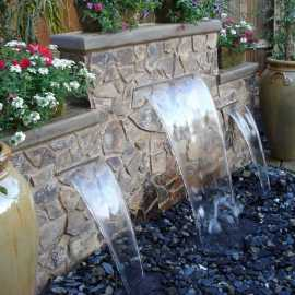 Wall Waterfall Outdoor Fountain Kits0007