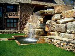 Wall Waterfall Outdoor Fountain Kits0013