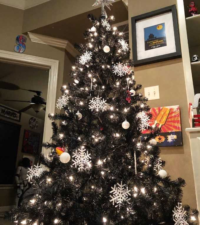 The Black Christmas Tree