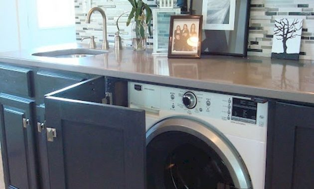Creative Ways To Hide A Washing Machine In Your Home 21