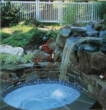Waterfall With A Small Pool