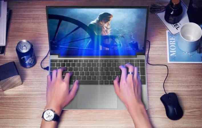 Dere V11 laptop computer design