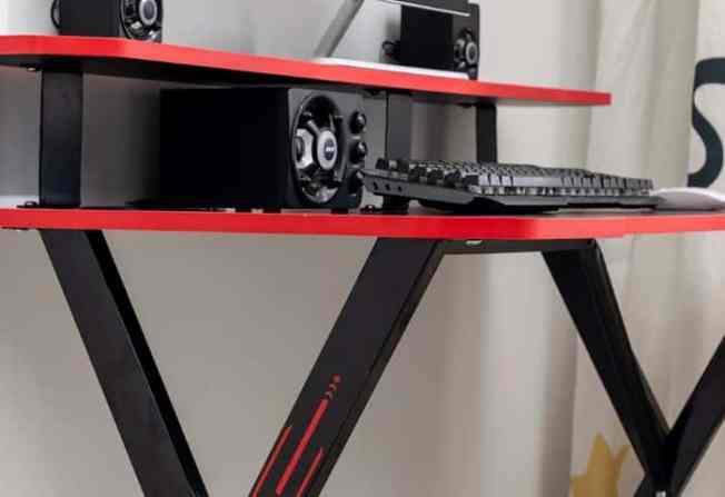 Ergonomic Gaming Desk feature