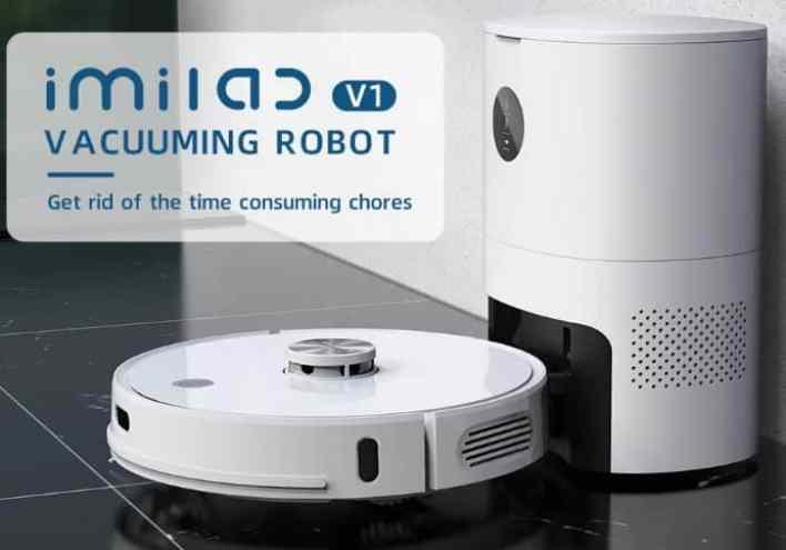IMILAB V1 Robot Vacuum design