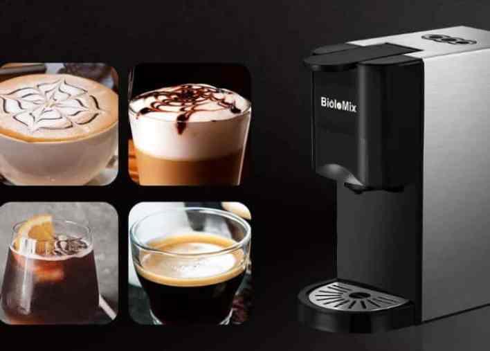 BioloMix 3 in 1 Espresso Coffee Maker