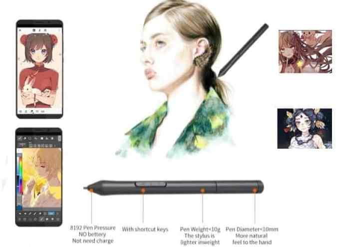 G10 Graphic Drawing Tablet feature