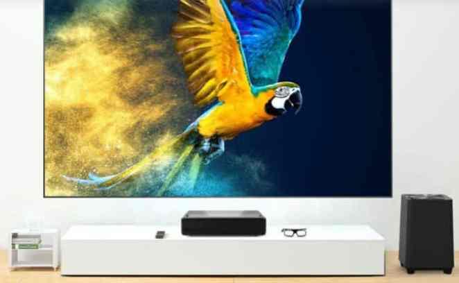 Xiaomi WEMAX S1 design