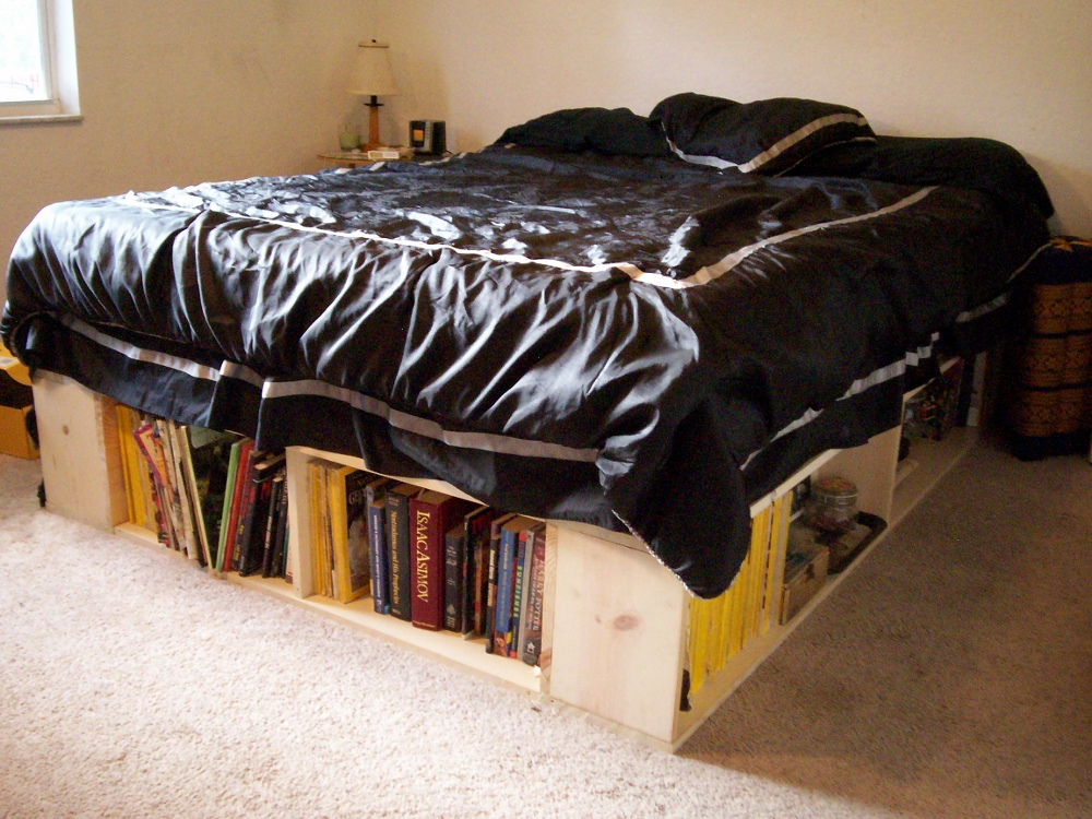 DIY Bed Frame with Storage Down Under on Cheap Bed Ideas  id=78195