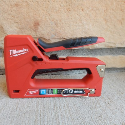 The Milwaukee Staple and Nail Gun – Go Ahead, It Will Make Your Day