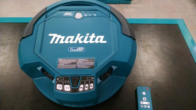 Robot vacuum cleaner and remote control unit