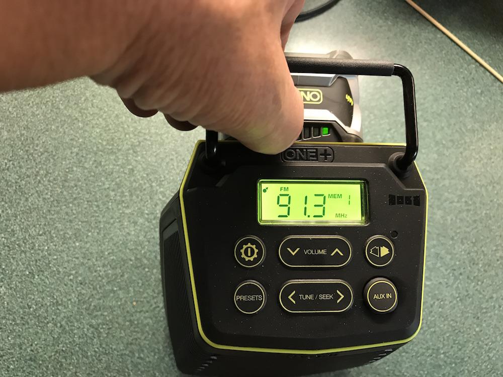 ryobi score wireless speakers