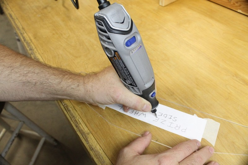 Engraving with the Dremel 3000