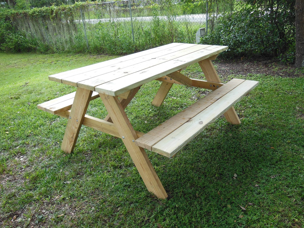 Life Is A Picnic Eat It Up With These Easy Diy Table Bench Plans
