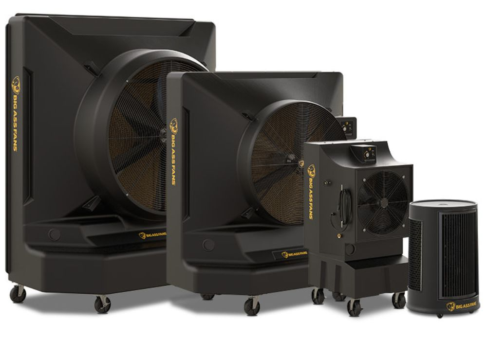 Big Ass Fans evaporative coolers