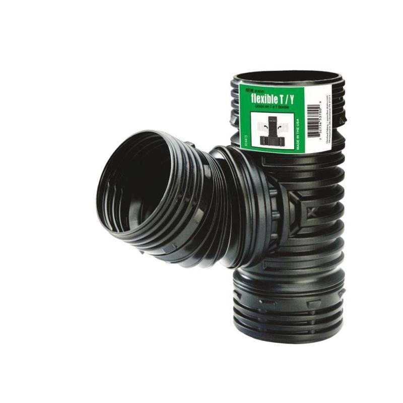 corrugated vs pvc pipe fitting
