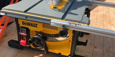 The DeWalt DWE7485 Table Saw  – A Saw for Any Site
