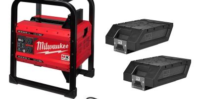 Modernize Your Jobsite with the MX Fuel Milwaukee Power Supply