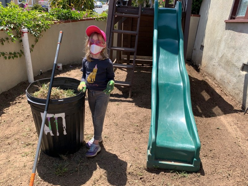rubber mulch playground helper