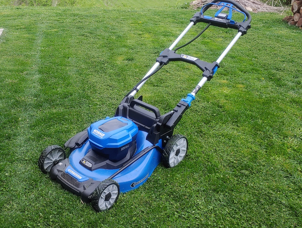 kobalt 24v cordless mower