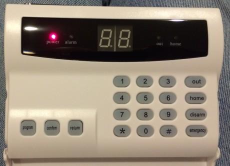 install a wireless alarm