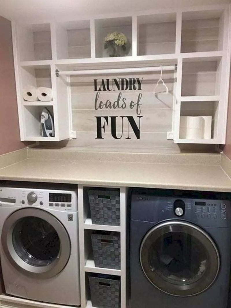 42 Awesome Small Laundry Room Decorating Ideas To Inspire You