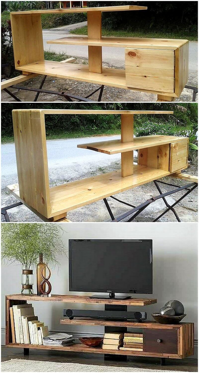36 Best DIY Projects Wood Furniture Ideas For Living Room