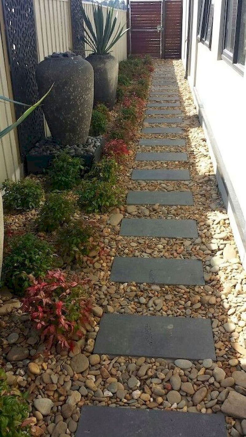49 Charming Side Yard Garden Landscaping Ideas You Need To See on Side Yard Designs id=21374