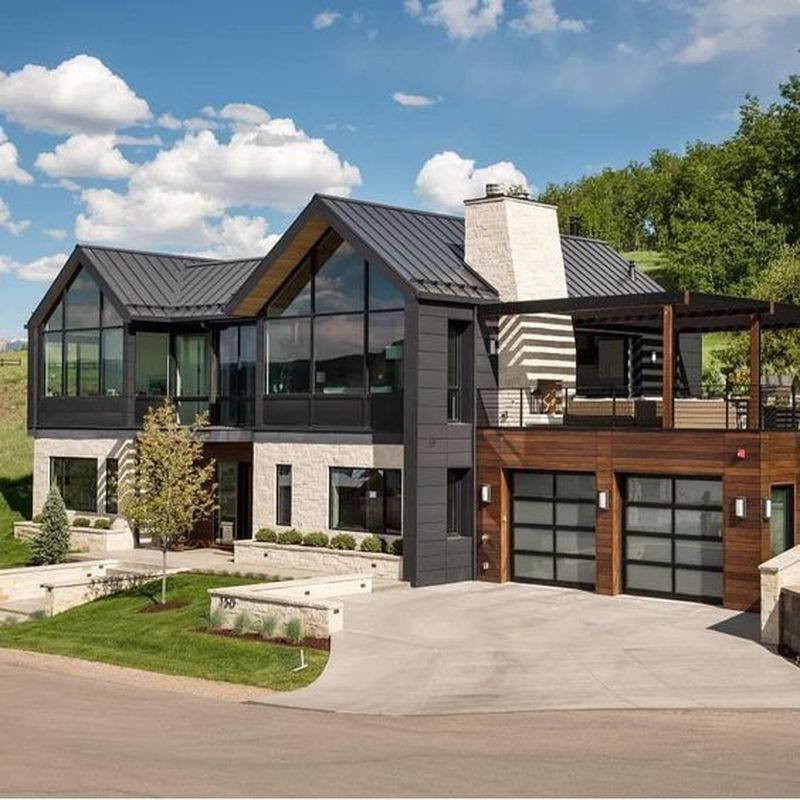 35 Modern Farmhouse Exterior Design Ideas That Are Comfortable
