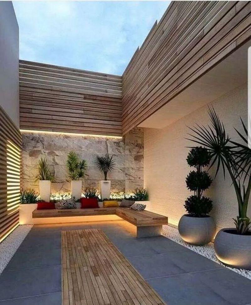 35 Beautiful Modern Small Backyard Design Ideas Homeflish