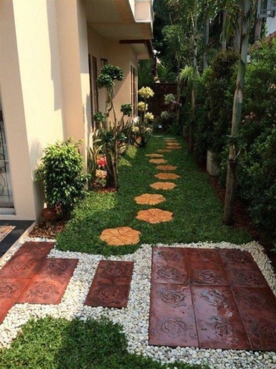 35 Cool Side Yard Landscaping Ideas on a Budget - Homeflish