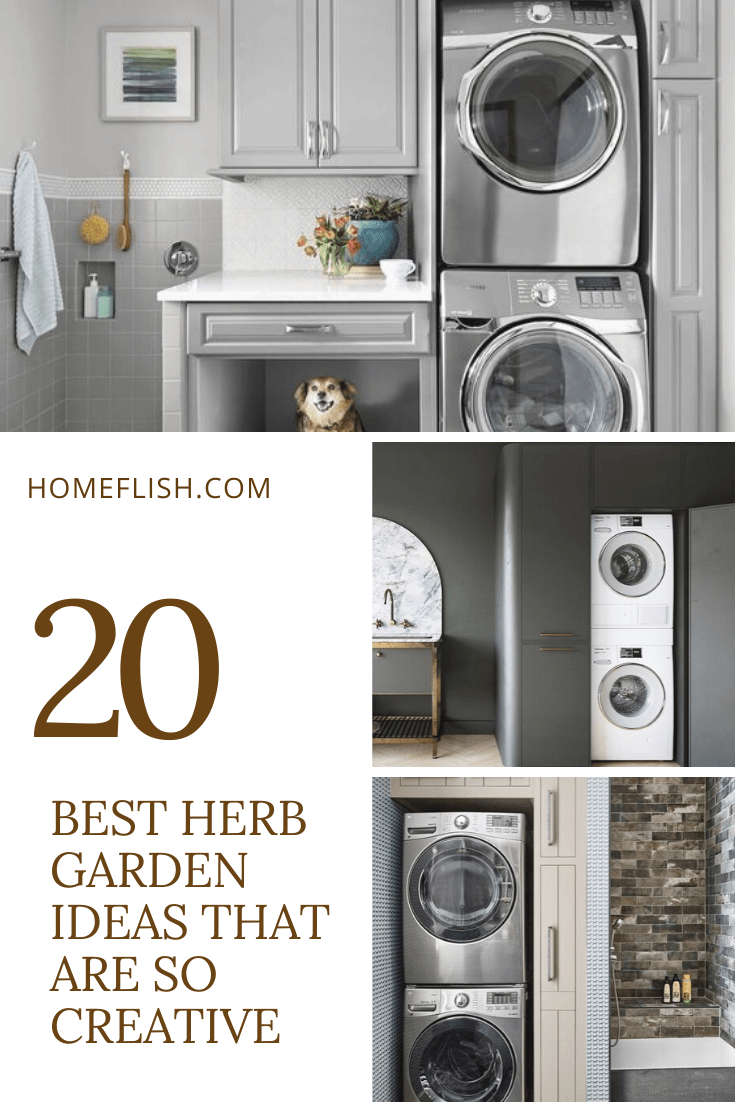 20 Stunning Small Laundry Room Makeover Ideas Homeflish
