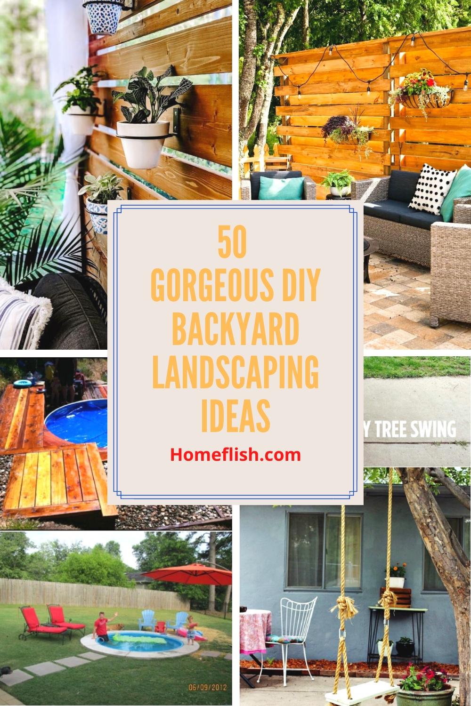 50 Gorgeous Diy Backyard Landscaping Ideas Homeflish
