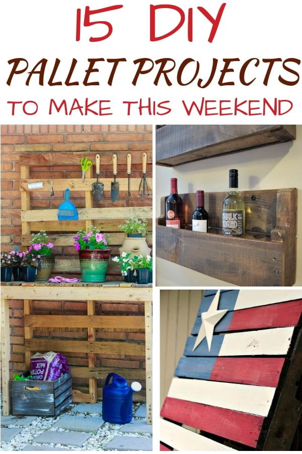 DIY Pallet Projects - Several different pallet projects