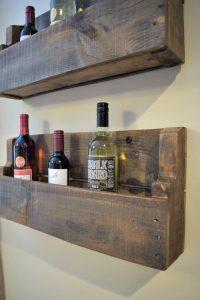 DIY Pallet Projects - Wine Rack