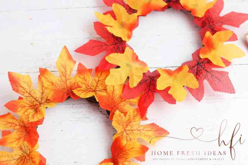 grapevine wreaths with leaves