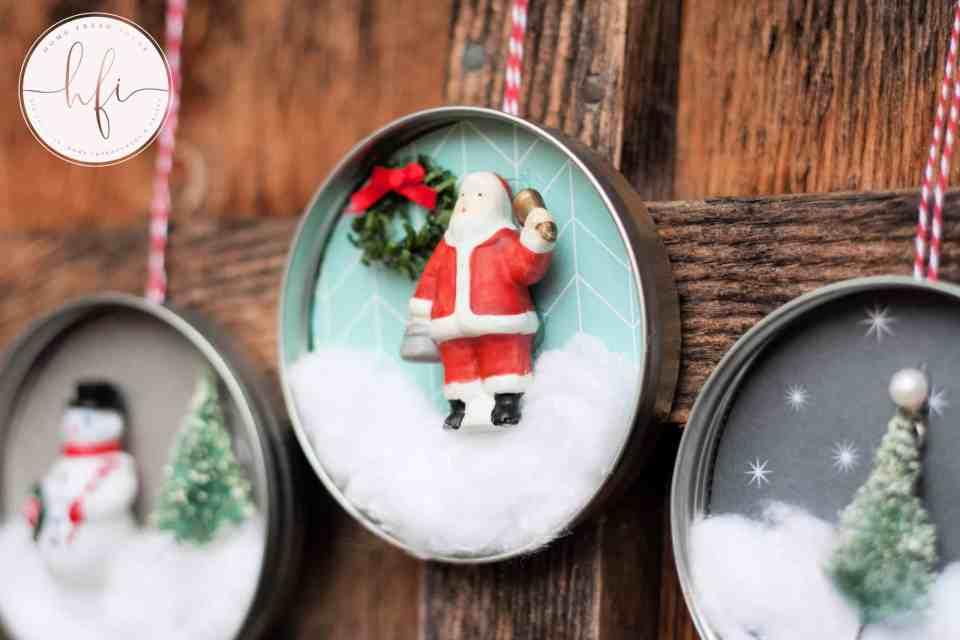 finished vintage ornaments