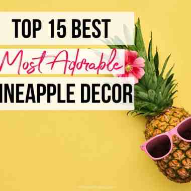 Most Adorable Pineapple Decor Ever - Check out the Most Adorable Pineapple Decor Ever! You can add some playful style and charm to your space or give them as gifts. #pineapple #decor #best #adorable #cute #stylish #homefreshideas