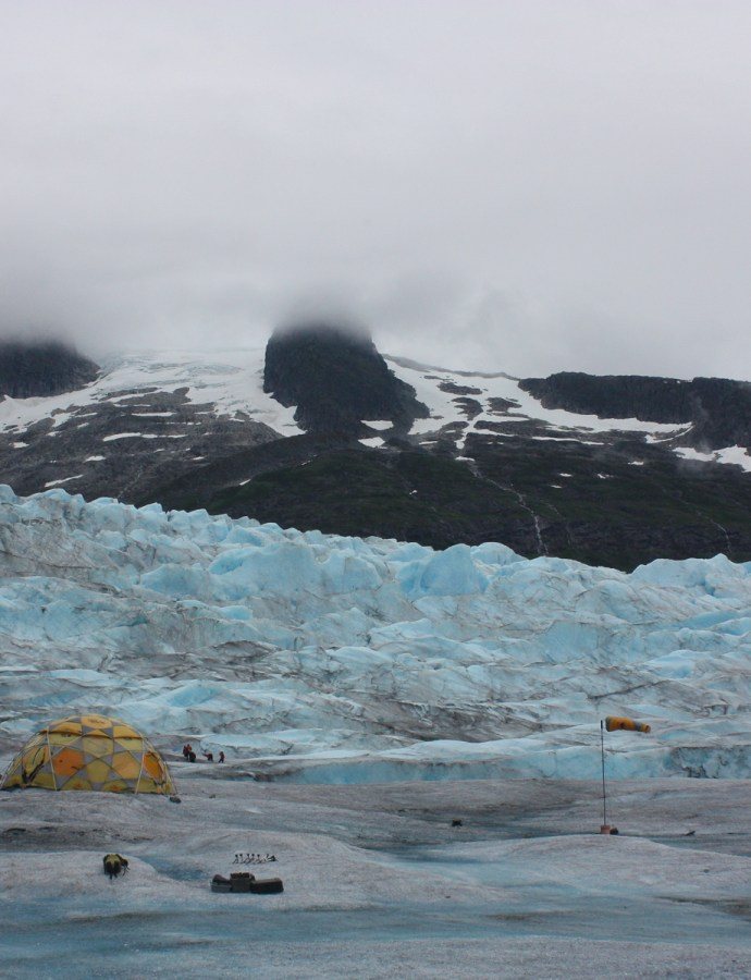 Hiking the Mendenhall Glacier